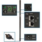 2.9kW Single-Phase Switched PDU, LX Platform, Outlet Monitoring, 120V Outlets (24 NEMA 5-15/20R), L5-30P Plug, 0U, TAA