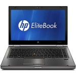 EliteBook 8460w Mobile Workstation - 2.60 Ghz Intel Core i5-2540M, 8 GB RAM, 500 GB HDD, Gigabit Ethernet, WLAN, 14.0-inch diagonal display, Windows 10 Pro 64-bit - Refurbished