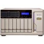 High-Performance 12-bay NAS/iSCSI IP-SAN AMD Ryzen 7 1700 8-core 3.0GHz, 64GB RAM, 10G-ready