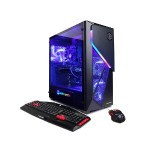 Gamer Xtreme GXi1150 8th Gen Intel Core i5-8600K Six-Core 3.60GHz Mid Tower Desktop PC - 8GB DDR4 SDRAM, 2TB SATA III HDD, NVIDIA GeForce GTX 1070 Ti 8GB, 802.11ac Wi-Fi Adapter, DVD+/-RW, Windows 10 Home 64-bit