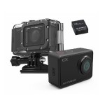 CX 1080p Action Camera with 5MP Photo Capture, Wi-Fi 2.0in LCD and Waterproof Housing