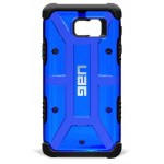 Pathfinder Series - Galaxy Note 5 Armor Shell and Impact Resistant Soft Core Case - Cobalt Blue