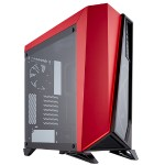 Carbide Series SPEC-OMEGA - Mid tower - ATX - no power supply (ATX) - black/red - USB/Audio