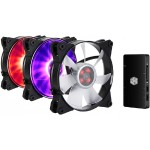 MasterFan Pro 120 Air Pressure RGB 3-in-1 with RGB LED Controller