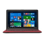 "R541NA RS01TQ - Celeron N3450 / 1.1 GHz - Win 10 Home 64-bit - 8 GB RAM - 1 TB HDD - DVD SuperMulti DL - 15.6"" touchscreen 1368 x 768 (HD) - HD Graphics 500 - red"