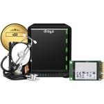 5N2 5-Bay NAS Enclosure Gold Edition, Diskless Includes 128GB mSATA SSD Card and 5-Year Drobo Care