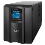 APC Smart-UPS C SMC1500C - UPS - AC 110/120/127 V - 900 Watt - 1440 VA - RS-232, USB - output connectors: 8 - Canada, United States - black - with APC SmartConnect