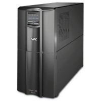 APC Smart-UPS SMT2200C - UPS - AC 110/120/127 V - 1.98 kW - 2200 VA - RS-232, USB - output connectors: 10 - Canada, United States - black - with  SmartConnect SMT2200C