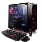 CLX SET GXH7900M Gaming PC, Intel Core i7-8700 3.20GHz 6-Core Processor -  16GB DDR4 Memory,  NVIDIA GeForce GTX 1060 (3GB GDDR5) Graphics, 120GB SSD, 1TB HDD, Windows 10 Home, Red