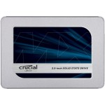 "Crucial MX500 - Solid state drive - encrypted - 1 TB - internal - 2.5"" - SATA 6Gb/s - 256-bit AES - TCG Opal Encryption 2.0 CT1000MX500SSD1"