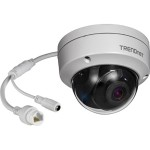 TV IP319PI - Network surveillance camera - dome - outdoor, indoor - weatherproof - color (Day&Night) - 8 MP - 3840 x 2160 - LAN 10/100 - MJPEG, H.264, H.265, H.265+, H.264+ - DC 12 V / PoE