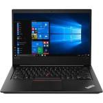 """ThinkPad E480 20KN 8th Gen Intel Core i7-8550U 1.8GHz Notebook PC - 8GB RAM, 500GB HDD, 14"""" IPS 1920 x 1080 (Full HD), Radeon RX 550, WiFi, Bluetooth, Microsoft Windows 10 Pro 64-bit - Black"""
