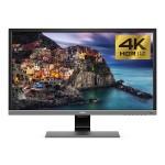 "27.9"" EL2870U 4K HDR Video Enjoyment Monitor - 16:9, 1 ms GTG, 3840 x 2160, 1.07 Billion Colors, 12,000,000:1, 4K UHD, Speakers, HDMI, DisplayPort - Metallic Gray"