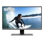 """31.5"""" EW3270U LED LCD Monitor - 16:9, 3840 x 2160, 1.07 Billion Colors, 20,000,000:1, 4K UHD, Speakers, HDMI, DisplayPort, USB, 76 W - Metallic Gray"""