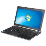 "Latitude E6230 12.5"" Standard Refurbished Laptop - Intel Core i5 3320M 3rd Gen 2.6 GHz 4GB SODIMM DDR3 SATA 2.5"" 250GB HDD Windows 10 Pro 64-Bit"