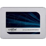 "Crucial MX500 - Solid state drive - encrypted - 500 GB - internal - 2.5"" - SATA 6Gb/s - 256-bit AES - TCG Opal Encryption 2.0 CT500MX500SSD1"