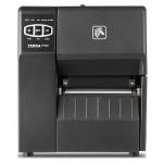 "ZT220 Thermal Barcode Label Printer - Industrial - Monochrome - 400 MHz - 203 dpi - 128MB SDRAM - Up to 359.1 inch/min - USB - Serial - 4.09"" Max Print Width - Tear-off - Bi-color LED"