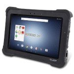 "XSlate D10 - No Handle Kit - tablet - Android 6.0.1 (Marshmallow) - 64 GB - 10.1"" IPS (1366 x 768) - USB host - microSD slot - 4G - LTE"
