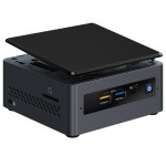 Next Unit of Computing Kit NUC7CJYH - Barebone - mini PC - 1 x Celeron J4005 / 2 GHz - HD Graphics 600 - GigE, Bluetooth 5.0 - WLAN: 802.11a/b/g/n/ac, Bluetooth 5.0 - vPro