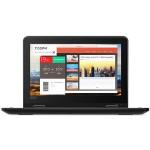 """ThinkPad 11e 20LQ - Celeron N4100 / 1.1 GHz - Win 10 Pro 64-bit - 4 GB RAM - 128 GB eMMC - 11.6"""" 1366 x 768 (HD) - HD Graphics 600 - Wi-Fi, Bluetooth - black"""