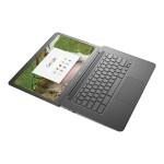 "Chromebook 14 G5 - Celeron N3350 / 1.1 GHz - Chrome OS - 4 GB RAM - 16 GB eMMC - 14"" TN touchscreen 1366 x 768 (HD) - HD Graphics 500 - Wi-Fi, Bluetooth - kbd: US"