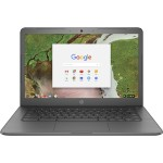 "Chromebook 14-ca020nr - Celeron N3350 / 1.1 GHz - Chrome OS - 4 GB RAM - 32 GB eMMC - 14"" 1366 x 768 (HD) - HD Graphics 500 - 802.11ac, Bluetooth -  finish in chalkboard gray - kbd: US"