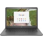 """Chromebook 14-ca070nr - Celeron N3350 / 1.1 GHz - Chrome OS - 4 GB RAM - 32 GB eMMC - 14"""" touchscreen 1366 x 768 (HD) - HD Graphics 500 - 802.11ac, Bluetooth -  finish in chalkboard gray - kbd: US"""