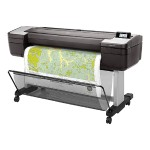 "DesignJet T1700 - 44"" large-format printer - color - ink-jet - 44 in x 66 in - 2400 x 1200 dpi - up to 0.6 min/page - capacity: 2 rolls - Gigabit LAN, USB host"
