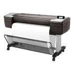 "DesignJet T1700dr PostScript - 44"" large-format printer - color - ink-jet - 44 in x 66 in - 2400 x 1200 dpi - up to 0.4 min/page - capacity: 2 rolls - Gigabit LAN, USB host"