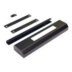 NetShelter CX High Security Handle Adaptor Kit - Rack security kit - black