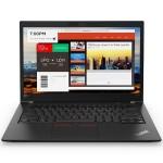 """ThinkPad T480s, Intel Core i7-8550U (1.80GHz, 8MB), 14"""" FHD IPS Multitouch Display, Windows 10 Pro 64, 8GB RAM, 1x256GB SSD PCIe, Intel UHD 620, Bluetooth 4.1, 720p HD Camera, Backlit Keyboard, Black, 3-Year Depot"""
