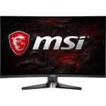 "Metallic Dark Gray - Red 27"" Curved 1ms (MPRT) 144Hz HDMI Widescreen LED Backlight Gaming Monitor 250 cd/m2 3000:1 DP HDMI DVI"