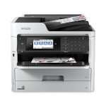 WorkForce Pro WF-C5790 - Multifunction printer - color - ink-jet - Legal (8.5 in x 14 in) (original) - A4/Legal (media) - up to 22 ppm (copying) - up to 24 ppm (printing) - 330 sheets - 33.6 Kbps - USB 2.0, Gigabit LAN, Wi-Fi(n), USB host