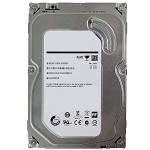 4TB Internal Hard Drive - SATA - 5900 rpm - 64 MB Buffer - Refurbished