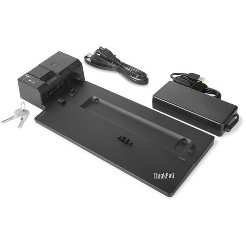 PCM | Lenovo, ThinkPad Ultra Docking Station - Docking station - VGA, HDMI,  2 x DP - 135 Watt - US - for ThinkPad A285