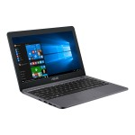 "VivoBook E12 E203NA DH02 - Celeron N3350 / 1.1 GHz - Win 10 Home 64-bit - 4 GB RAM - 32 GB eMMC - 11.6"" 1366 x 768 (HD) - HD Graphics 500 - 802.11ac, Bluetooth - star gray"