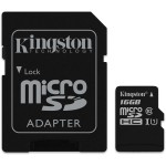 16GB microSDHC Canvas Select 80R CL10 UHS-I Card + SD Adapter