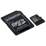 32GB microSDHC Canvas Select 80R CL10 UHS-I Card + SD Adapter