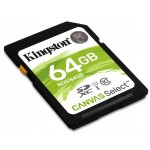 64GB SDXC Canvas Select 80R CL10 UHS-I