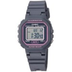 Ladies Color Digital Watch - Gray, LED: Amber