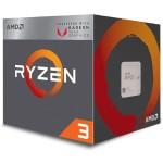 Ryzen 3 2200G 4-core/4-thread, 65W, Socket AM4, 6MB Cache, 3700MHz, RX Vega Graphics, AMD Wraith Stealth Cooler