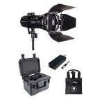 Wasp 100-C LED Spot 1 Light Kit with Case (Custom Foam)