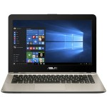 "VivoBook F441BA DS94 - A9 9420 / 3 GHz - Win 10 Home 64-bit - 8 GB RAM - 256 GB SSD - 14"" 1920 x 1080 (Full HD) - Radeon R5 - gold, chocolate black"