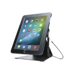 Anti-Theft Stand - Mounting kit (anti-theft enclosure, stand base, mounting hardware) for Apple iPad / iPad Pro 9.7 / iPad Air - aluminum - black - desktop, counter top - for Apple 9.7-inch iPad; 9.7-inch iPad Pro; iPad; iPad 2; iPad Air; iPad Air 2