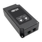 Gigabit PoE+ Midspan Active Injector - IEEE 802.3at/802.3af, 30W, 1 Port