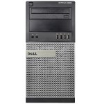 Optiplex 9020 Intel Core i7-4770 3.4GHz Mini-Tower PC - 32GB RAM, 2TB HDD, DVD+/-RW, Gigabit Ethernet, 290W, Microsoft Windows 10 Pro 64-bit - Refurbished