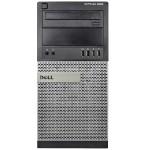 Optiplex 9020 Intel Core i7-4770 3.4GHz Mini-Tower PC - 32GB RAM, 250GB SSD, DVD-ROM, Gigabit Ethernet, 290W, Microsoft Windows 10 Pro 64-bit - Refurbished