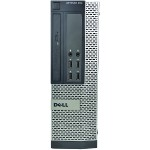 Optiplex 990 Intel Core i3-2120 3.3GHz Small Form Factor PC - 4GB RAM, 320GB HDD, DVD-ROM, Gigabit Ethernet, 240W, Microsoft Windows 10 Pro 64-bit - Refurbished