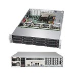 """SuperStorage Server 5028R-E1CR12L 2U  rack-mountable Server 1-way - RAM 0MB, SAS hot-swap 3.5"""", no HDD, AST2400, GigE, no OS, monitor: none (Open Box Product, Limited Availability, No Back Orders)"""