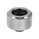 Pacific C-PRO G1/4 PETG Tube - Liquid cooling system compression fitting - chrome